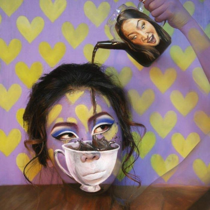 The Illusion Artist Dain Yoon Creates Mind-Blowing Looks teapot