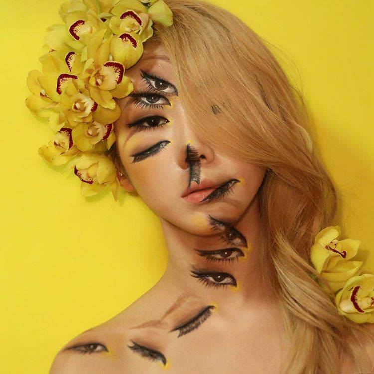 The Illusion Artist Dain Yoon Creates Mind-Blowing Looks eyes