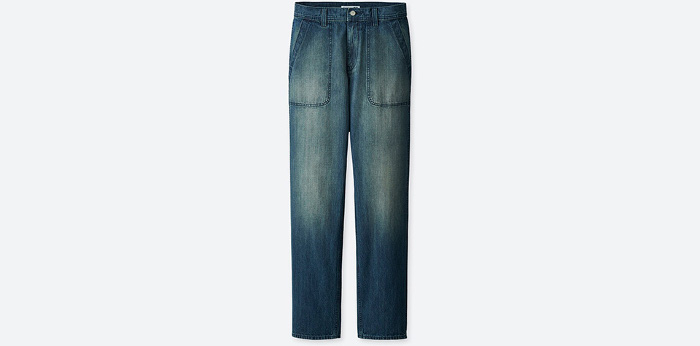 J.W. x Uniqlo Collaboration  jeans
