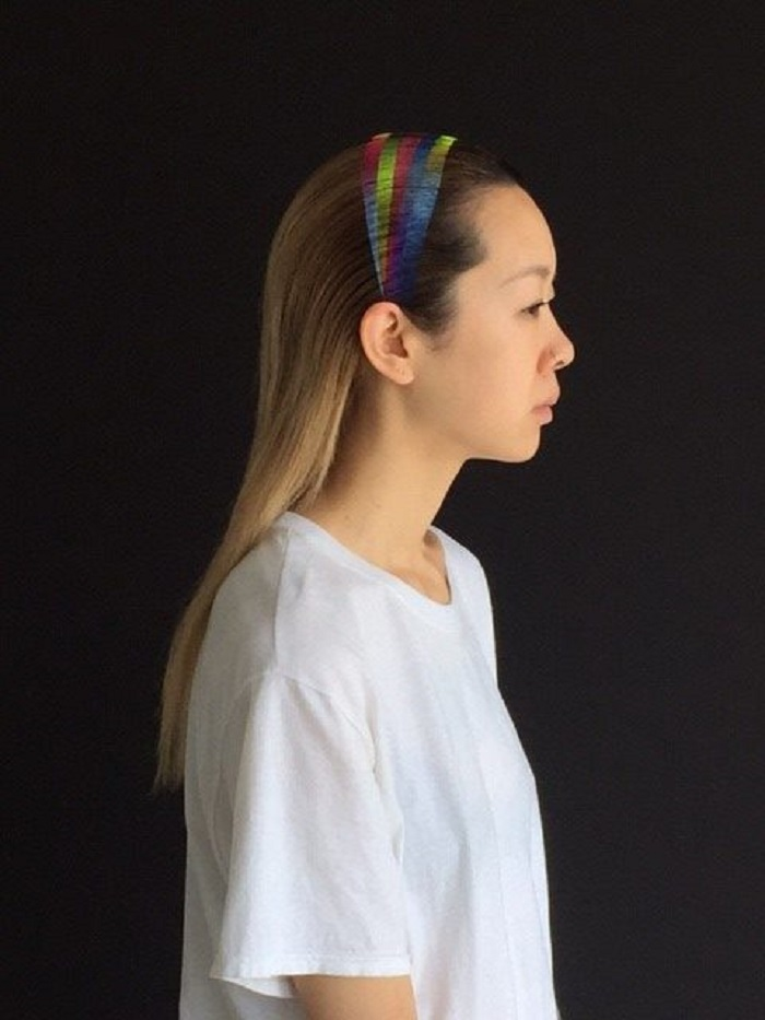 Spray-On Rainbow Headband is the New Amazing Hair Accessory