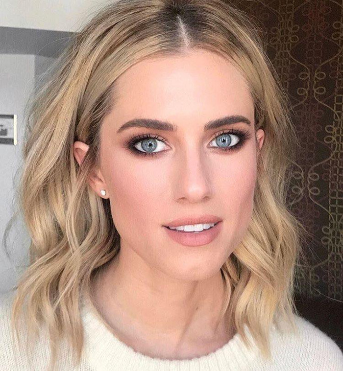 Pretty Matte Celeb Makeup Looks to Try Allison Williams