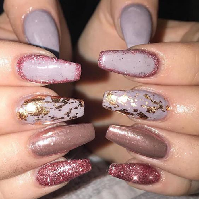 25 Stunning Ideas for Marble Nails