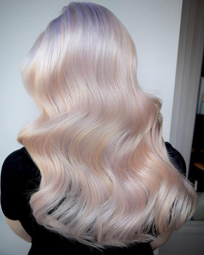 Move Over Unicorn Hair, Hollywood Opal is Taking The Lead in 2018 Opal hair trend