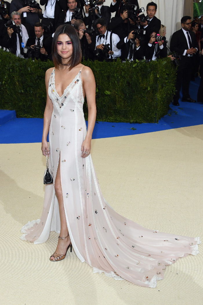 Selena Gomez to Lauch Clothing Line With Coach Selena Gomez Met Gala 2018