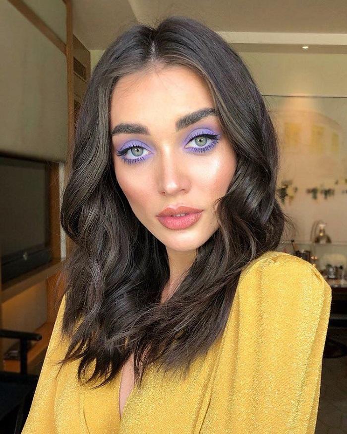 Pretty Pastel Makeup Looks to Flaunt purple makeup