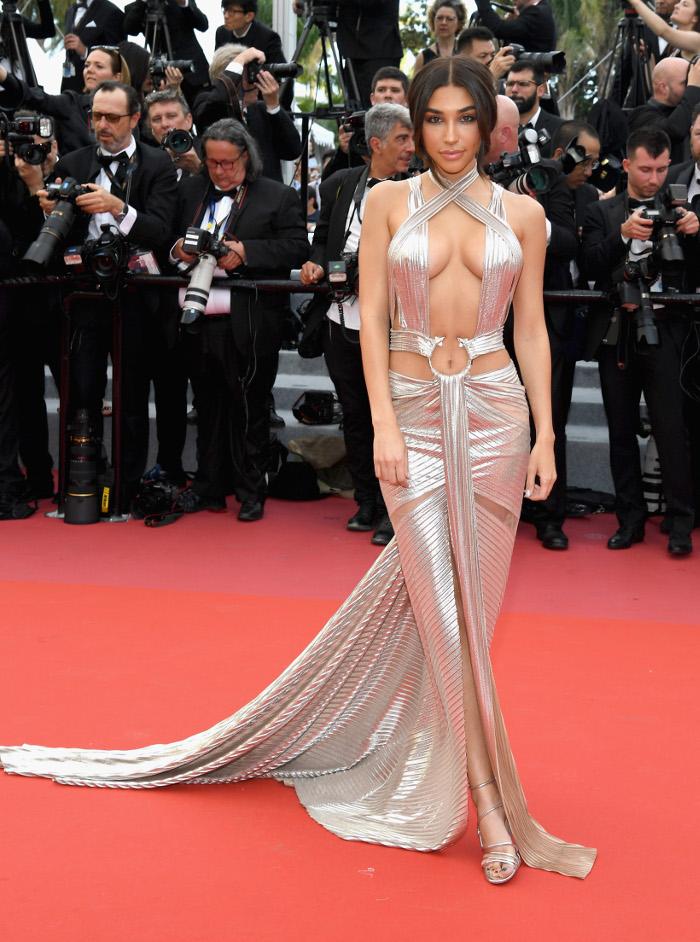 Celebrities Show Skin With Cutout Dressses Chantel Jeffries