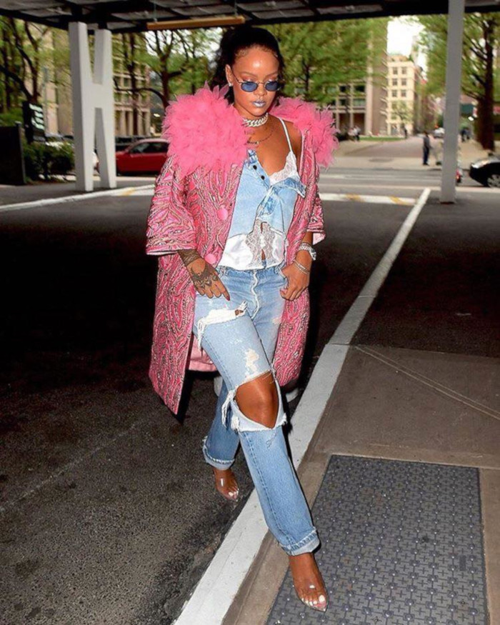 Celebrities With Most Daring Style Rihanna