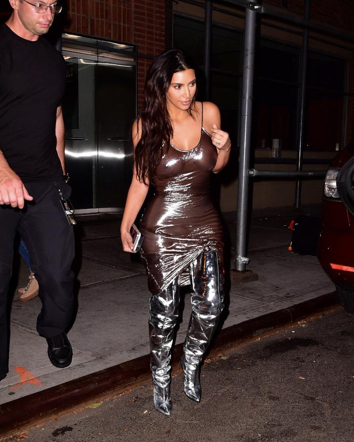 Kim Kardashians Most Naked Looks